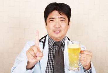禁酒、アルコール控える男